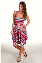 Roxy Rose Blushes Dress (Multi Stripe) - Apparel