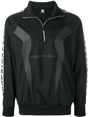 Kappa Kontroll Logo Stripe Pullover Track Jacket