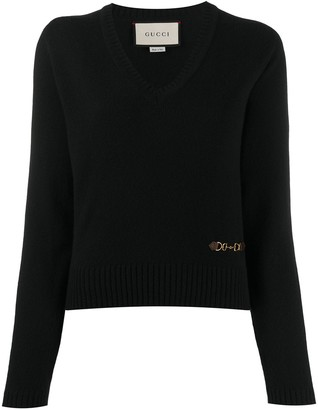Gucci Knitted Long-Sleeve Jumper