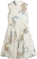 Topshop Hambledon floral-print silk-georgette dress