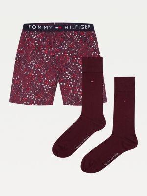 Tommy Hilfiger Cotton Trunks And Socks Gift Set