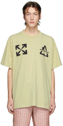 Off-White Beige Universal Key Over T-Shirt