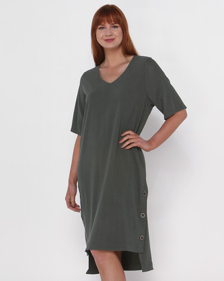 Privilege Women's Dresses - Grace V-Neck Dress - Size One Size, 10 at The Iconic