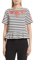 Kate Spade Women's Embroidered Tee