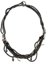Iosselliani Twisted Chain Snake Necklace