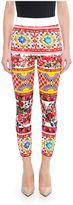 Dolce & Gabbana Mambo Print Leggings