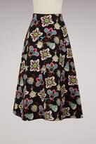 Valentino Flower Pop midi skirt