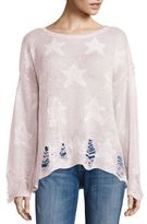 Wildfox Couture Seeing Stars Sunset Yarn Sweater