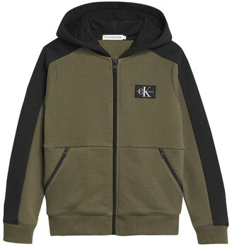 Calvin Klein Kids Colour-Block Zip-Up Hoodie (4-16 Years)