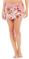 Alex Marie Tropicali Skirt with Tie Sash