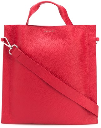Orciani Logo-Plaque Tote Bag