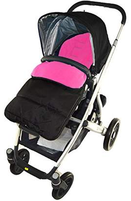 Phil & Teds Footmuff/Cosy Toes Compatible with Navigator Pushchair Pink Rose