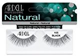 Ardell Fashion Lashes #105, Reusable upto Three Weeks, Black (6 Pack)
