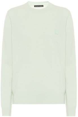 Acne Studios Face wool sweater