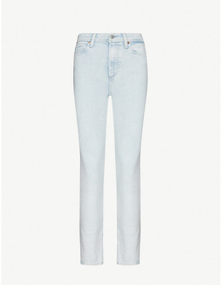 Paige Margot Alba skinny high-rise stretch-denim jeans