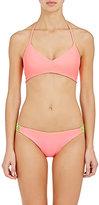 Basta Surf Women's Zunzal Bikini Top-PINK, GREEN