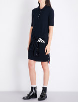 Thom Browne 2-in-1 wool polo dress