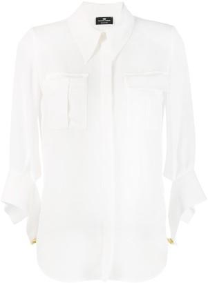 Elisabetta Franchi flap pocket shirt