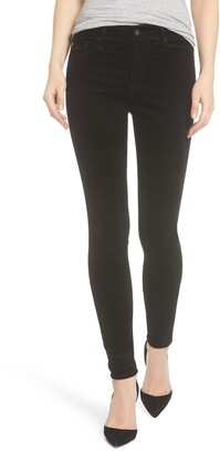 AG Jeans The Farrah High Waist Velvet Jeans