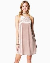 Charming charlie Date Night Velvet Dress