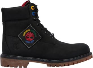 """Timberland 6"""" Premium Waterproof Boots Outdoor Boots - Black"""