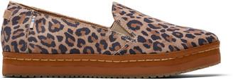 Toms Leopard Suede Palma Women's Platforms