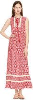 Kate Spade Posy ikat patio dress