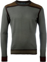 Etro two-tone jumper - men - Cotton - S