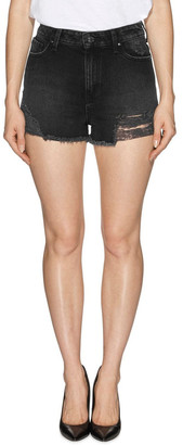 GUESS Claudia High Rise Slit Shorts