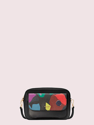 Kate Spade Make It Mine Customizable Camera Bag Floral Collage Pouch