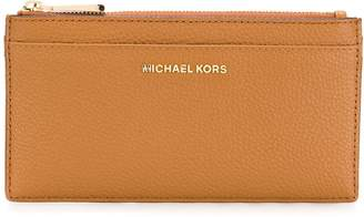 Michael Kors embossed logo wallet