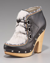 Belle By Sigerson Inuit-Inspired Lace-Up Bootie