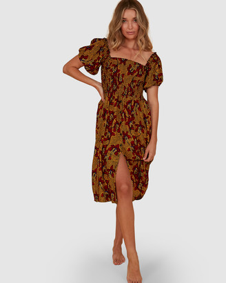 Billabong Sunbaked Midi Dress