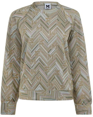 M Missoni Logo Jacquard Sweater