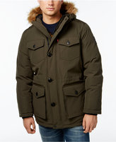 Levi's Heavyweight Faux-Fur-Trim Hooded Parka