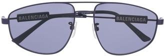 Balenciaga Eyewear Aviator-Frame Sunglasses