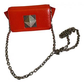 Sonia Rykiel Copain Orange Patent leather Handbags