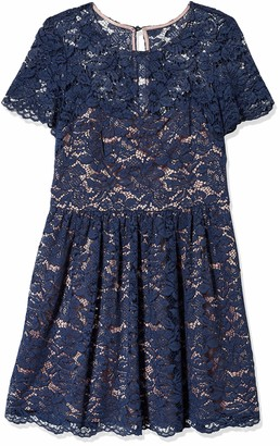 Eliza J Women's Fit & Flare Lace Dress