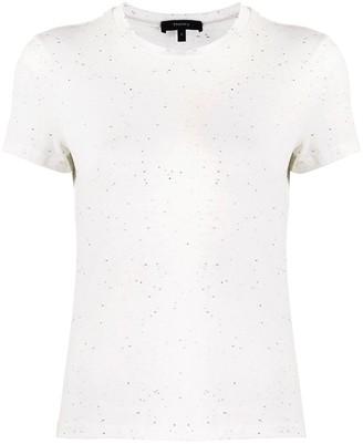 Theory flecked short sleeve T-shirt