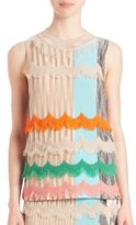 Missoni Draped Stripe Shell