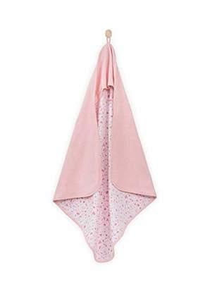 Camilla And Marc Jollein Tiny Waffle Bathcape, Soft Pink, 75 x 75 cm