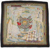 One Kings Lane Vintage Hermés Marine Naive Scarf