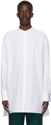 Jil Sander White Poplin Sunday Shirt