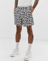 Asos Design DESIGN shorter shorts in floral print