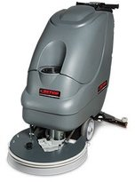 """Betco E29937-00 CREWMANTM AS20B 20"""" Automatic Scrubber, Includes (2)12V 110 AH AGM Batteries, 12 Amp AC Charger & Pad Driver"""
