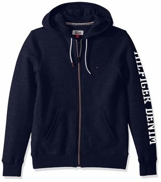 Tommy Hilfiger Men's THD Full Zip Hoodie Sweatshirt
