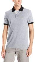 Lacoste Men's Seg 1 Short Sleeve Semi-Fancy Pique Polo