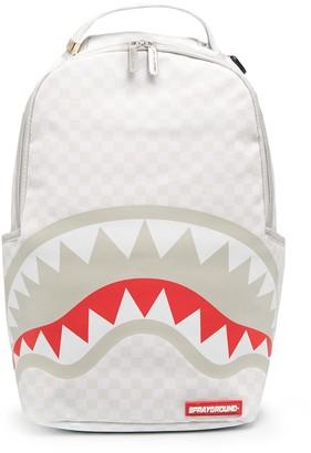 Sprayground Shark Mouth Print Backpack