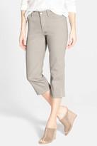 NYDJ Ariel Stud Trim Stretch Crop Jean (Petite)