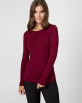Le Château Viscose Blend Crew Neck Sweater